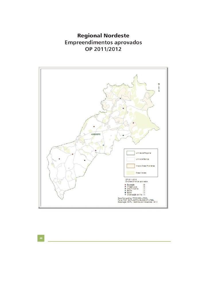 Empreendimentos do OP Nordeste