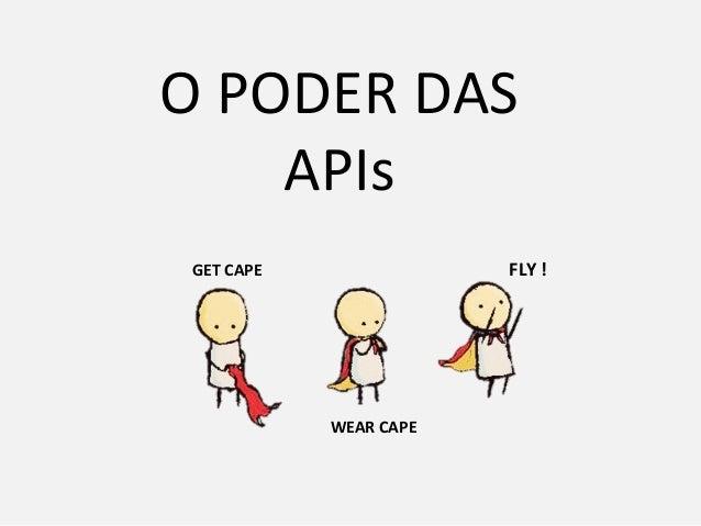 O PODER DAS APIs GET CAPE WEAR CAPE FLY !