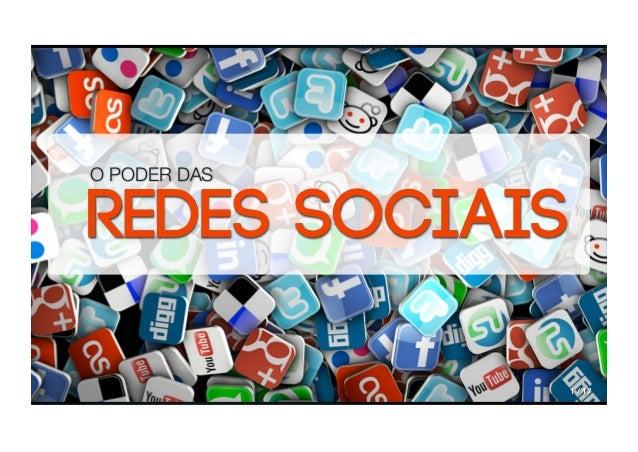 O PODER DASREDES SOCIAIS T                  1 / 17