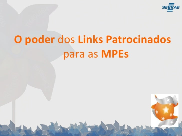 O poder dos Links Patrocinados para as MPEs<br />