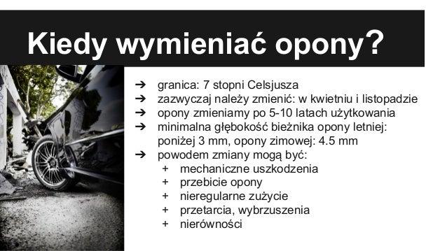 Opony Letnie A Opony Zimowe