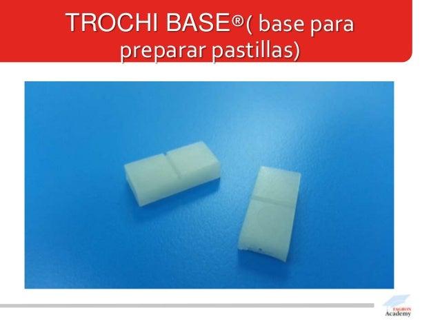 TROCHI BASE®( base parapreparar pastillas)