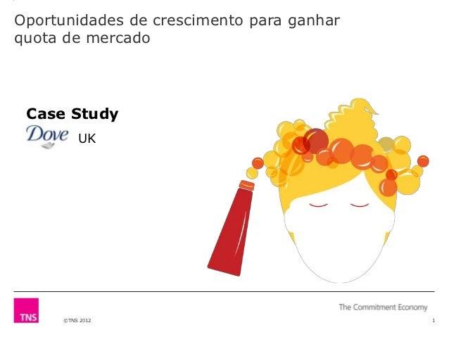 Oportunidades de crescimento para ganharquota de mercado Case Study          UK      ©TNS 2012                            1