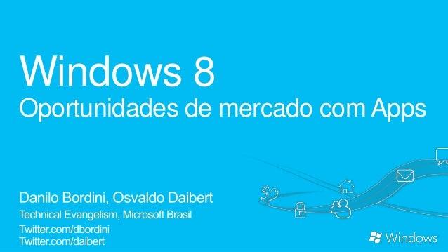 Windows 8Oportunidades de mercado com Apps