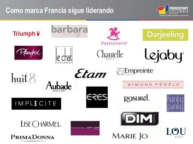 Oportunidades en francia para el sector prendas trajes de for Ropa interior marcas