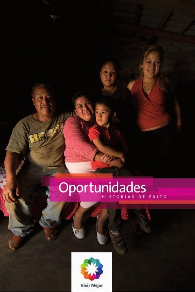 Oportunidades  HISTORIAS DE ÉXITO