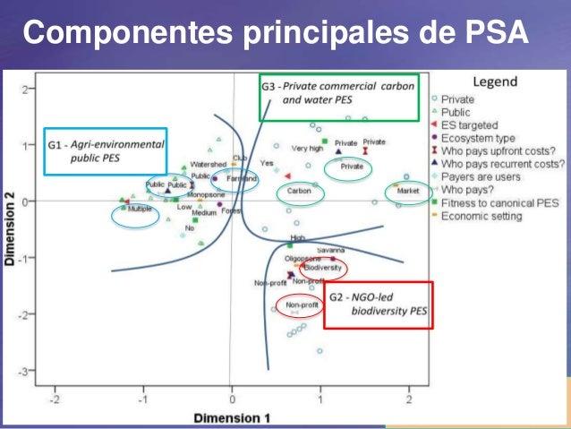 Ezzine de Blas et al. (2014, subm.) Componentes principales de PSA