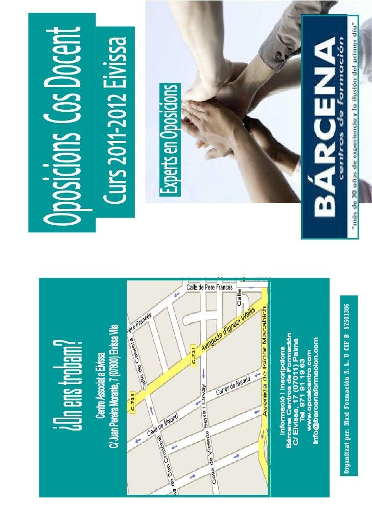Organitzat per: Maxi Formación S. L. U CIF B 57501306