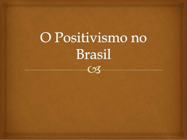  A larga e bem-sucedida difusão da Filosofia Positiva de Auguste Comte no Brasil , constitui até hoje um dos grandes mito...