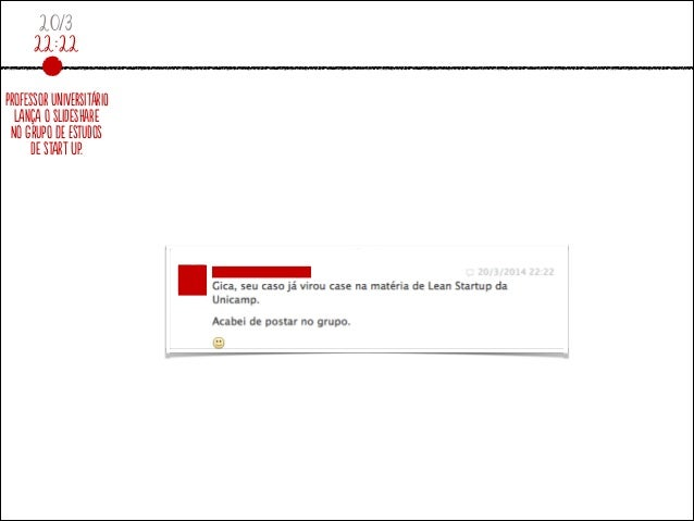 20/3 22:22 ProfeSsor UniVeRsitáriO lAnçA o sLidesHare No grUpo dE estUdos De stArt up.