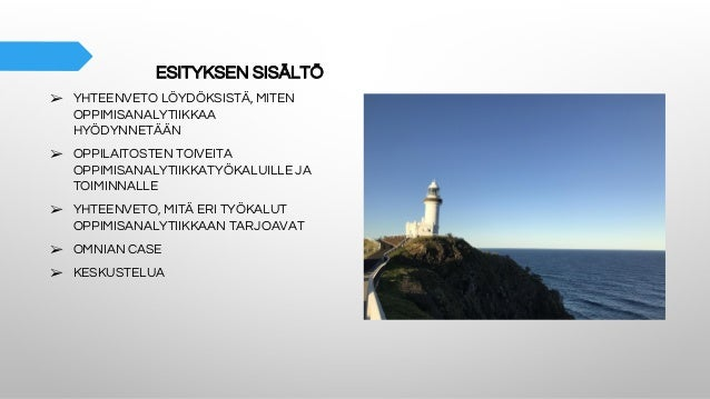 Poluttamo-webinaari: Oppimisanalytiikka oppilaitoksissa - Leena Vainio Slide 3