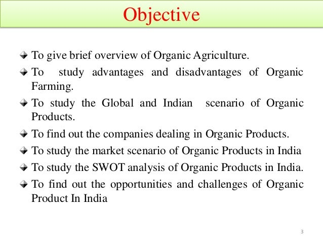 Opportunities and challenges for marketing of organic products in in…