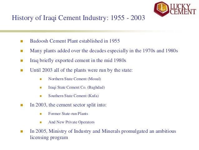 Opportunities & Challenges in Iraqi Cement Market