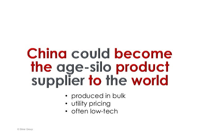 © Silver Group • produced inbulk • utility pricing • often low-tech
