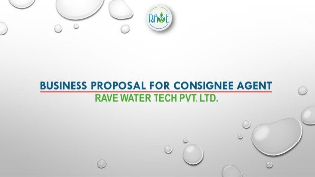 Opportunity for Consignee Agents and Distrbutors - Rave RO Water Purifier