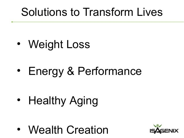 Isagenix Body Cleansing & Longevity Wellness Revolution