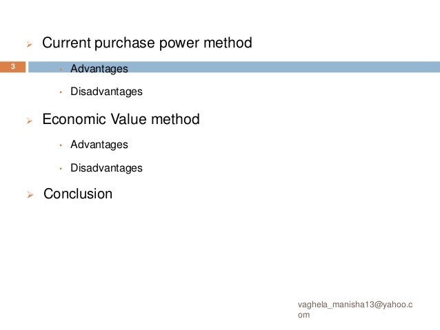 current purchasing power (CPP)