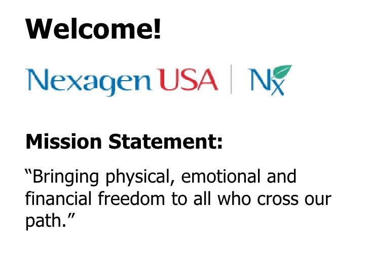 "Welcome! Mission Statement: "" Bringing physical, emotional and financial freedom to all who cross our path."""