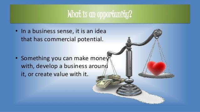 Opportunity recognition for Entrepreneurs Slide 3