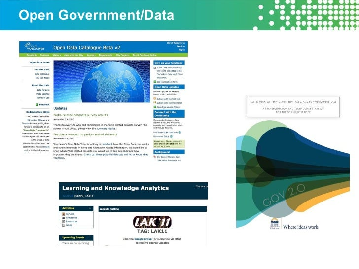 Open Government/Data