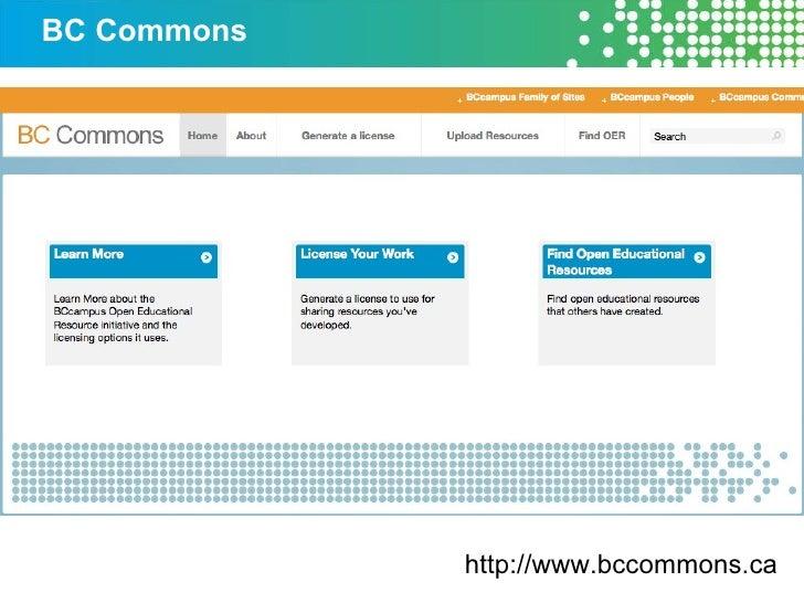 BC Commons http://www.bccommons.ca