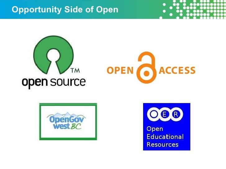 Opportunity Side of Open