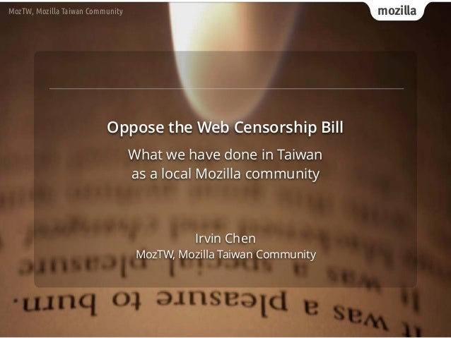 mozillaMozTW, Mozilla Taiwan Community Irvin Chen