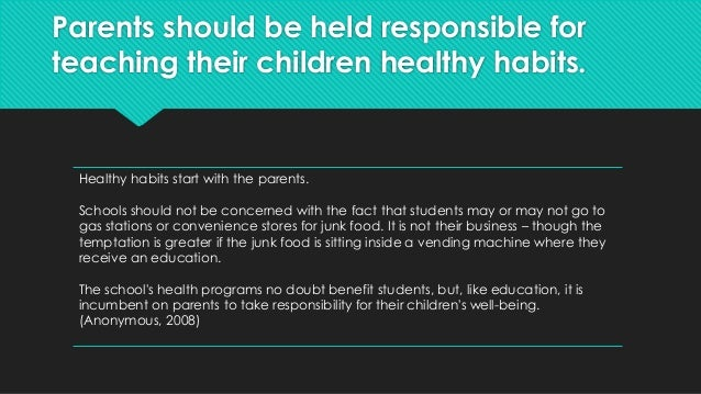 Detrimental Effects of Fast Food on Children