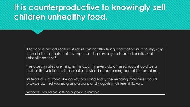 Should states ban junk food in schools?