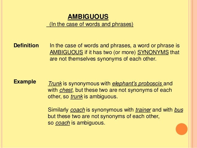 Oppositeness and dissimilarity of sense and ambiguity