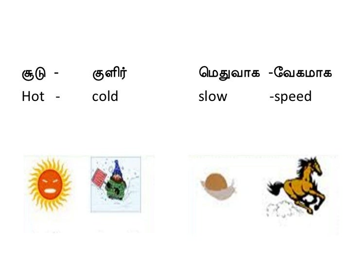 On the contrary meaning in tamil
