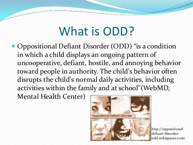 Adults With Oppositional Defiant Disorder 26
