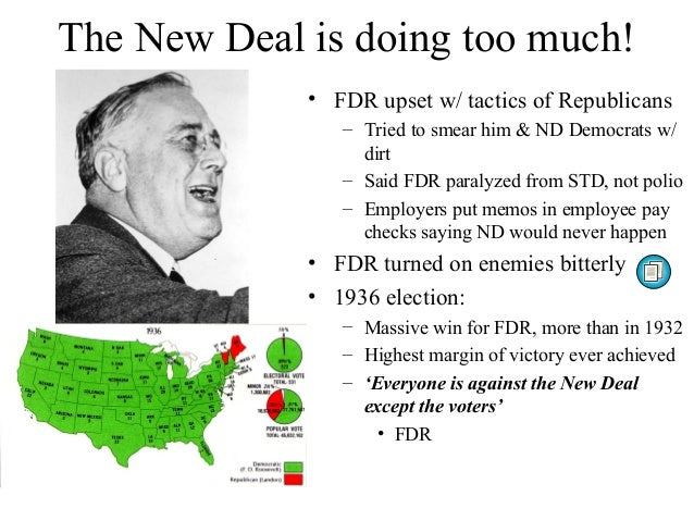 how successful was the opposition to the new deal To conclude, the new deal was a success in numerous ways as it provided jobs as over 8 million people were given jobs also, many us citizens gained confidence and had faith in the government which was very important for the recovery of the usa.