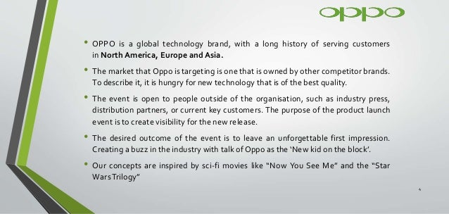 Oppo Smartphone Launch SA - Assignment