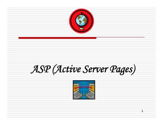 ASP (Active Server Pages)                            1