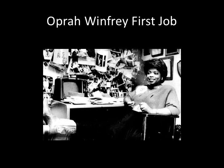 Oprah Winfrey: a career timeline