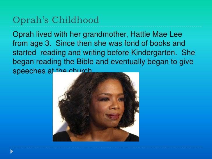 oprah winfrey life story