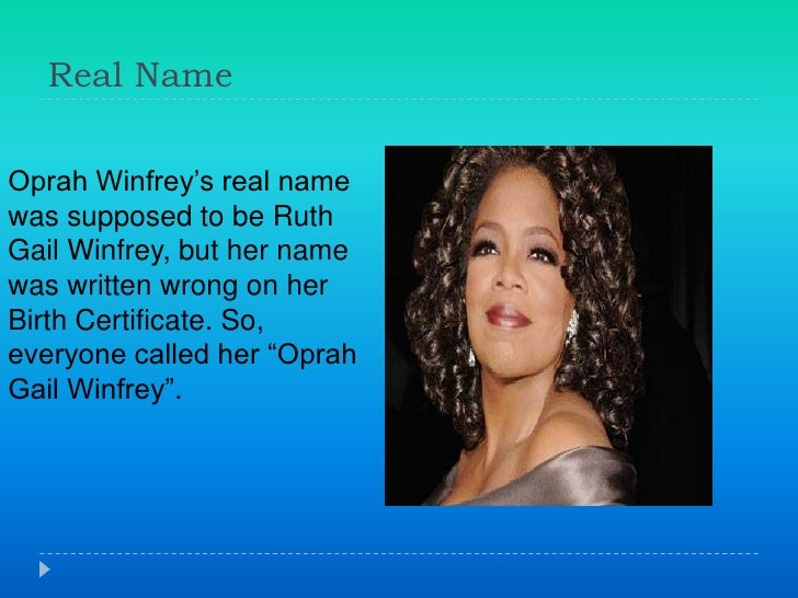 laws of life essay oprah winfrey The one book that changed oprah winfrey's life and business  which we all  know is the third law of motion in physics, explains winfrey.