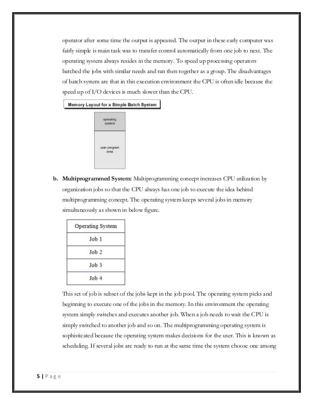 pdf lecture notes on operating systems