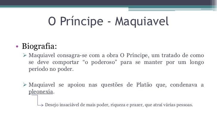 O príncipe – Maquiavel (1513) Slide 3