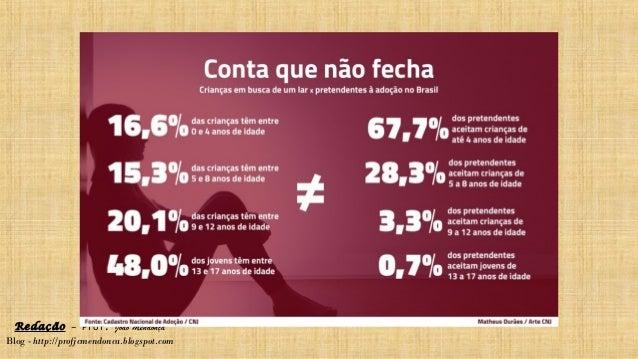 Redação – Prof. João Mendonça Blog - http://profjcmendonca.blogspot.com