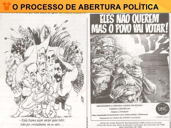 O PROCESSO DE ABERTURA POLÍTICA