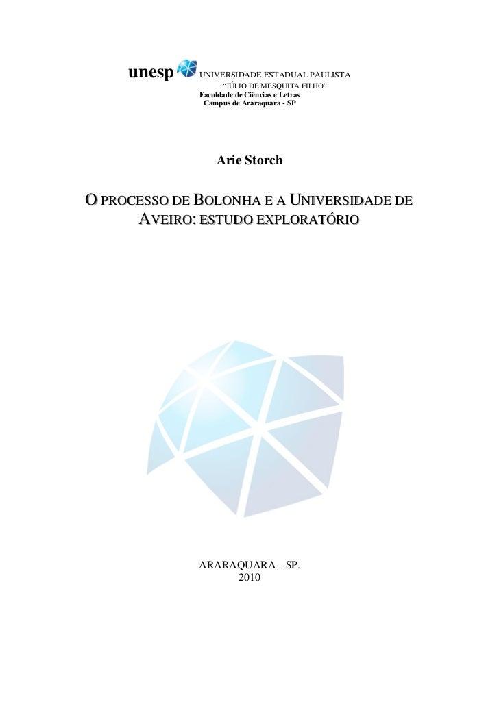 PAINEL I A Implementação do Processo de Bolonha nas ...