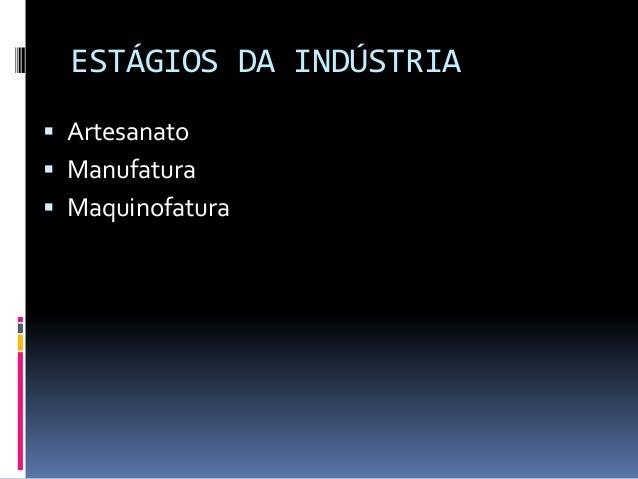 Artesanato Maceio Pajuçara ~ O processo de industrializaç u00e3o e urbanizaç u00e3o do Brasil