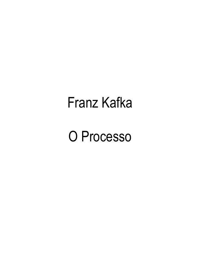 Franz KafkaO Processo