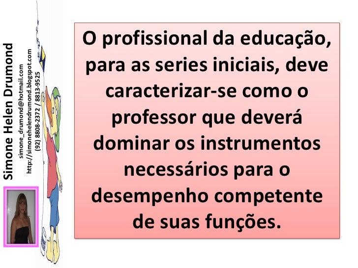 O profissional professor