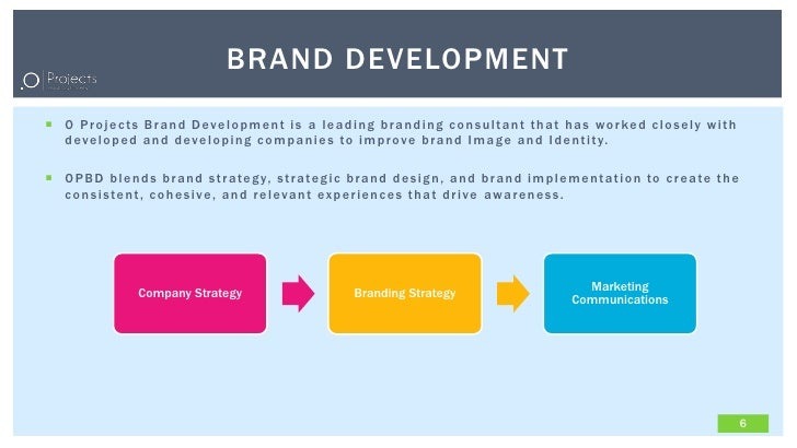 project on branding Branding is a more sophisticated form of marketing communication the purpose of branding a project is to associate an emotion or a feeling with your project.