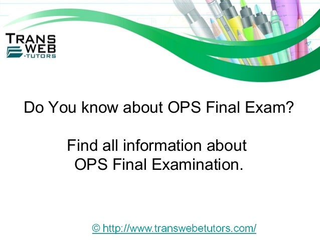 operations management 571 final exam Ops/571 final examanswers are final exam for ops 571 all correct answers which of the following statements is not true about capacity management in operations.