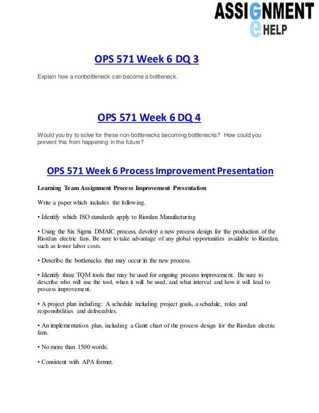 ops 571 individual assignment apply the Ops 571 entire course download – this archive ops 571 entire course includes following files.