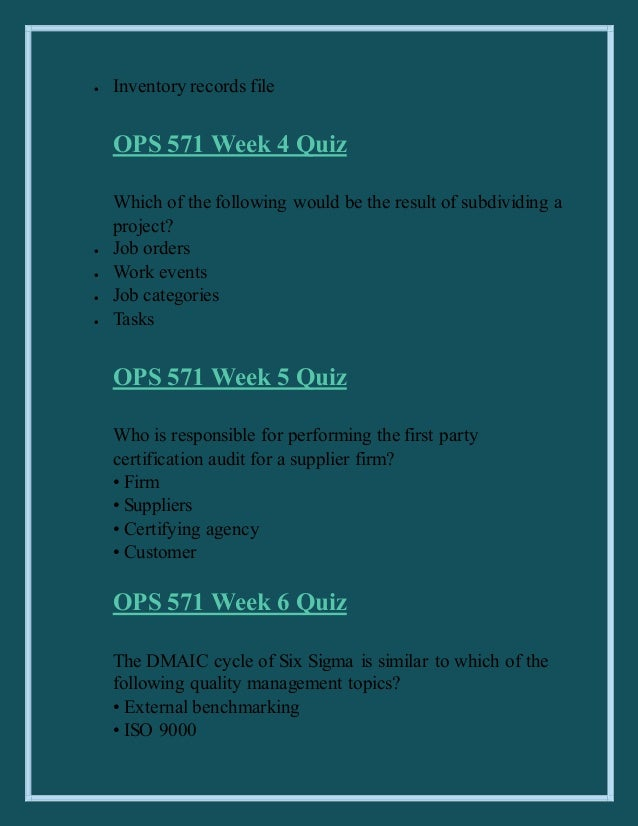 ops 571 process improvement plan Ops 571 uop help/uop course  ops 571 week 3 individual assignment process designs  ops 571 week 3 individual assignment  be used for ongoing process improvement.